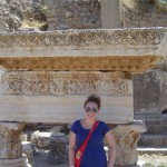 Among the ancient ruins in Turkey