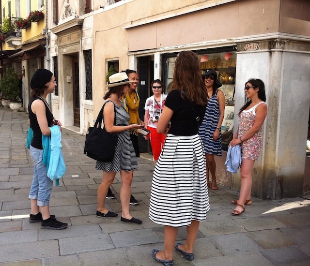 Finding My Confidence on Venice's Narrow Streets